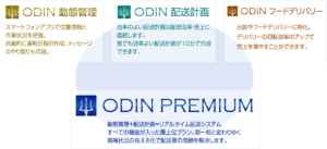 ODIN リアルタイム配送システム 製品群